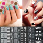 Easy Reusable Stamping Tool DIY Nail Art Template Stickers Stamp Stencil Cool