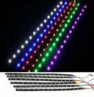 "1Pair 12 LEDs 30cm/11.8"" 5050 SMD LED Strip Light Waterproof 12V Car Decor"