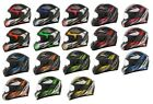 AFX Adult 2016 Extol Full Face Motorcycle Helmet All Rush Colors XS-2XL