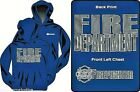 Firefighter HOODED SWEATSHIRT with HIGHLY REFLECTIVE IMPRINT - Firefighter Hoody
