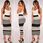 Fashion Sexy Women Beach Maxi Long Dress Bodycon Party Bandage Straight Formal A