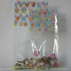 Easter Cellophane Bags *Easter Chicks and Hearts* * Choose Size & Quantity*