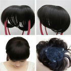 6 Inch 30g Wome Men Human Hair Topper Piece Hair Toupee Top Replacement