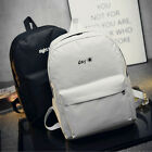 Fashion Women's Simple Canvas Satchel Backpack Rucksack Shoulder School Bag LAU
