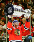 Patrick Kane Chicago Blackhawks 2015 Stanley Cup Trophy Photo SB137