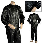 Men Heavy Duty Sweat Sauna Suit Anti-Rip Fitness Weight Loss Exercise Gym L-2XL