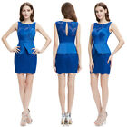 Ever-Pretty Women's Blue Short Sleeveless Sexy  Mini Casual Party Dress 05366