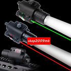 LED Flashlight+Green/Red Dot Laser Sight For Pistol Gun Combo CREE Q5 USPS