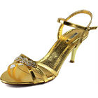 Sexy Rhinestone Ankle Strap Evening Dance Strappy Bridal Formal Cute Shoes
