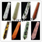 50x10mm Intriguing Faceted Mixed Gemstone Pendulum CAB CABOCHON XX723