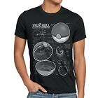 Pokéball Blaupause Herren T-Shirt monster online go plus arena amiibo japan spot