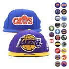Mitchell & Ness Assorted NBA and NHL Classic Logo Collection Fitted Hat Men's on eBay