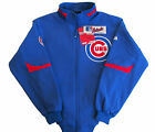 Chicago Cubs MLB Majestic Big & Tall Authentic Premier Dugout Jacket-2XL-NWT