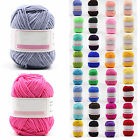 CHIC 38 colors Soft Bamboo Crochet Cotton Knitting Yarn Baby Knit Wool Yarn