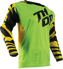 Thor 2017 S7 Fuse Dazz Jersey Green/Yellow Mens All Sizes