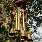 Metal Bells Wind Chime Garden Yard Hanging Charm Church Decor Feng Shui Ornament
