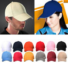 Men Curved Plain Baseball Cap Work Casual Sports Solid Color Sun Summer Hat