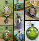 RAPUNZEL TANGLED FLYNN CHARM HANDMADE NECKLACE PENDANT LOCKET DISNEY PRINCESS