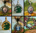 LORD OF THE RINGS OR HOBBIT NECKLACE LOCKET CLIP ON CHARM BRACELET