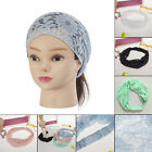 NEW Style Women Bandanas Lace Head wrap girl chic turban Hair Band wide Headband