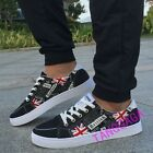 Pieced British Fashion Mens Lace Up Casual Flats Sports Athletic Board Shoes New