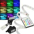 (12,98€/m)5m RGB Led Strip SET inkl Controller Netzteil IP44 / Leiste Stripe
