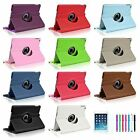360 Degree Swivel Stand Rotating PU Leather Case Cover for Apple iPad Air 5 5th