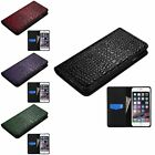 100% Real Genuine Flip Luxury Leather Case Cover Skin For iPhone 6S 6 / 6 plus