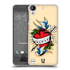 HEAD CASE DESIGNS OLD SCHOOL TATTOOS HARD BACK CASE FOR HTC DESIRE 530
