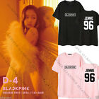 KPOP BLACKPINK T-shirt SQUARE TWO Tshirt JENNIE ROSE LISA Unisex Cotton Tee