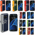Official NFL Impact Shock Resistant Armor Case for Samsung Galaxy S7 Fan Cover