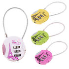 Luggage Round Shaped Mini Backpack Lock Combination Padlock 3 Digits Number
