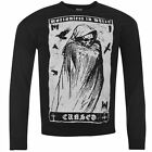 Official Mens Motionless In White Sweatshirt Long Sleeve Round Neck Top Jumper