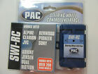 SWI-RC PAC STEERING WHEEL INTERFACE SONY DUAL ALPINE CLARION JVC KENWOOD PIONEER