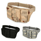 Outdoor Tactical Waist Pack Fanny Phone Pouch Belt Bag Camping Hiking Bag