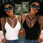Fashion Women Tank Tops Bustier Bra Vest Crop Top Bralette Sleeveless Blouse New