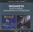 Megadeth Rust In Peace / Countdown To Extinction 2 CD album (Double CD) UK