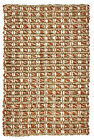 Kosas Home Intoppo Jute Rust Natural Area Rug