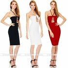Woman Off Shoulder Dresses Sexy Hollow Mini Skirt One Piece Bodycon Dress S/M/L