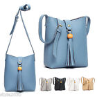NEW Women Shoulder Bag Tote Messenger CrossBody Faux Leather Purse Handbag