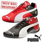 New Puma Mens Ferrari Future SF OG Motorsports Leather Trainers Boots UK Sz 6-12