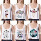 Fashion Ladies Summer Vest Top Sleeveless Shirt Blouse Casual Tank Tops T-Shirt