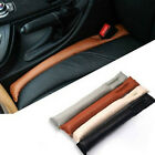 1pc Hot Sale Sline Black Leather Car Seat Seam Gap Filler Soft Pad Leakproof