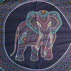 Elephant Boho Hippy Large Batik Sarong Shawl Wrap Beach Skirt Dress Wall Hanging