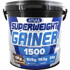 5KG ATLAS SUPER WEIGHT GAINER GAIN 1500 Cal Per Serving Protein Mass Gainer Low