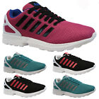 LADIES WOMENS SPORTS GYM FITNESS JOGGING RUNNING CASUAL TRAINERS SHOES SIZE ZX