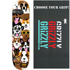 """ENJOI Skateboard Deck DOG COLLAGE 7.75"""" with GRIZZLY GRIPTAPE"""
