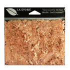 La D'ore Metal Leaf Flakes, Metal Leafing for Gilding & Embellishments, 1g, Copr
