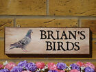 PERSONALISED DOVECOTE SIGN PIGEON LOFT SIGN YOUR OWN WORDING BIRDS PIGEON GIFTS