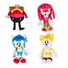 "Tomy Sonic Boom 25th anniversary 8"" Plush - Sonic Dr Eggman  Knuckles Tails  NEW"